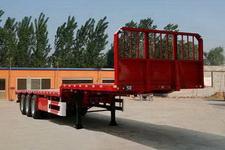 东正12米34吨3轴平板运输半挂车(ADZ9400TPB)