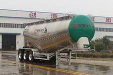 通亚达牌CTY9400GFLTL40型铝合金中密度粉粒物料运输半挂车图片