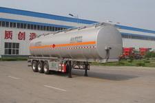 盛润牌SKW9408GYYA型铝合金运油半挂车图片
