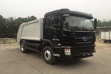 华林牌HLT5180ZYSEV型纯电动压缩式垃圾车图片