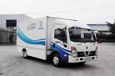 远程汽车国二单桥纯电动厢式运输车136马力5吨以下(DNC5070XXYBEV01)