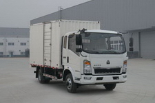 豪沃牌ZZ5087XXYF3314E183型厢式运输车图片