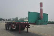 霸申特8米32.5吨3轴平板自卸半挂车(BST9400ZZXP)