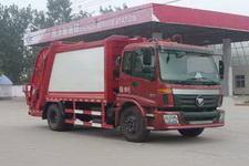程力威牌CLW5161ZYSB5型压缩式垃圾车
