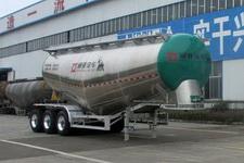 通亚达牌CTY9400GFLTL36型铝合金中密度粉粒物料运输半挂车图片