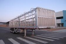 蒙凯牌MK9400CCYLH型铝合金仓栅式运输半挂车图片