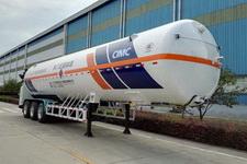 宏图13.2米24.6吨3轴低温液体运输半挂车(HT9400GDYH1)