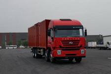 红岩牌CQ5316XXYHXVG466型厢式运输车图片