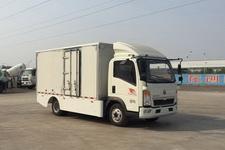 豪沃牌ZZ5077XXYF3414Z174BEV型纯电动厢式运输车图片