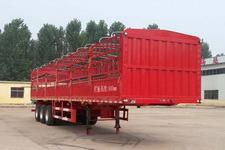 运腾驰牌SDT9400CCY型仓栅式运输半挂车图片
