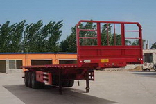 河海明珠12米32.3吨3轴平板自卸半挂车(MZC9401ZZXP)