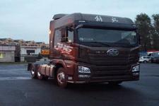 解放后双桥,后八轮平头柴油牵引车430马力(CA4250P25K2T1E5A82)