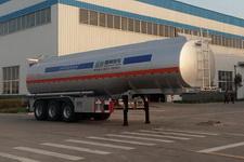 盛润牌SKW9401GYYL型铝合金运油半挂车图片