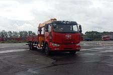希望牌MH5250JSQJ6型随车起重运输车图片
