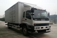 庆铃牌QL5180XXYXRFRJ型厢式运输车图片