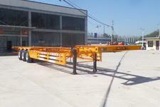 YYX9400TJZE型广恩牌集装箱运输半挂车图片