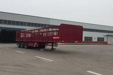 豫前通牌HQJ9374CCY型仓栅式运输半挂车图片