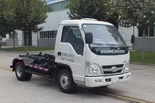 森源牌SMQ5040ZXXBJE5型车厢可卸式垃圾车图片