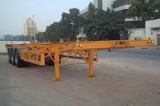 粤工牌SGG9370TJZ型集装箱运输半挂车