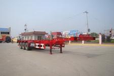 通亚达牌CTY9404TJZG型集装箱运输半挂车图片