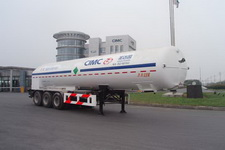 圣达因牌SDY9404GDYR型低温液体运输半挂车图片