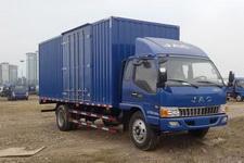 江淮骏铃国四单桥厢式运输车133-165马力5-10吨(HFC5120XXYP91K2D4)