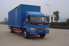 江淮骏铃国四单桥厢式运输车152-160马力5-10吨(HFC5160XXYP81K1E1)