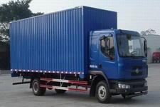 东风柳汽国四单桥厢式运输车180-211马力5-10吨(LZ5162XXYRAPA)