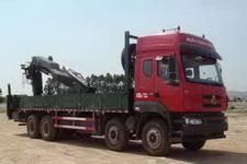 东风柳汽国四前四后八随车起重运输车269-321马力10-15吨(LZ5311JSQQELA)