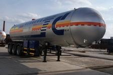 建成12.4米25.8吨3轴液化气体运输半挂车(JC9402GYQQA)