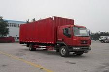 东风柳汽国四单桥厢式运输车140-160马力5-10吨(LZ5162XXYM3AA)