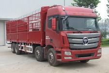 福田欧曼国四前四后八仓栅式运输车310-430马力15-20吨(BJ5319CCY-XE)