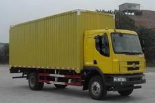 东风柳汽国四单桥厢式运输车140-160马力5-10吨(LZ5160XXYM3AA)