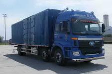 福田欧曼国四前四后四厢式运输车211-269马力10-15吨(BJ5252XXY-XC)