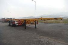 黄海12.4米33.5吨3轴集装箱运输半挂车(DD9405TJZ)