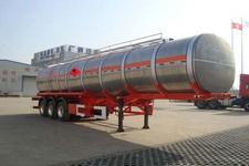 安通牌CHG9400GRY型铝合金易燃液体罐式运输半挂车
