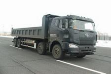 解放牌CA3310P66L7T4E24M4型平头天然气自卸汽车图片