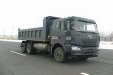 解放牌CA3250P66T1E24M4型平头天然气自卸汽车图片