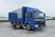 福田歐曼國四單橋倉柵式運輸車160-190馬力5-10噸(BJ5163CCY-XE)