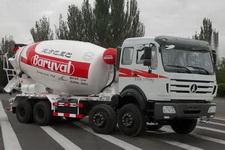 北方重工牌BZ5318GJB37NA4型混凝土搅拌运输车图片
