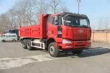 解放牌CA3250P66L0T1E24M5型平头天然气自卸汽车图片