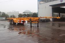金皖牌LXQ9351TJZ型集装箱运输半挂车