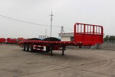 金皖12.5米32.2吨3轴平板自卸半挂车(LXQ9401ZZXP)