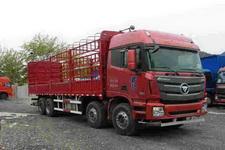 福田欧曼国四前四后八仓栅式运输车310-430马力15-20吨(BJ5319CCY-XH)