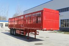 华鲁业兴12米34.3吨3仓栅式运输半挂车