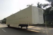 上元13米4吨2轴厢式展示半挂车(GDY9245XXZ)
