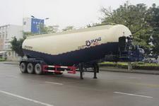 运力牌LG9402GFL型低密度粉粒物料运输半挂车图片