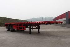 通工牌TG9350TPB型平板运输半挂车