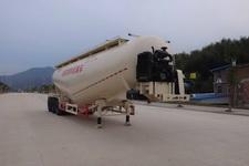 闽鹰12.6米30吨3轴低密度粉粒物料运输半挂车(FSY9400GFL)