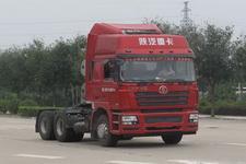陕汽后双桥,后八轮牵引车350马力(SX4258NV384TL)